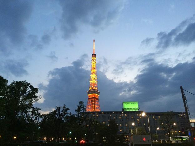 写真: 140501 東京タワー