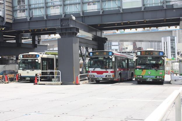 東京都交通局復刻塗装&通常塗装と東急バス