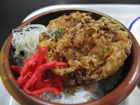 上越の湯 なごみ処 ミニかき揚げ丼 ¥350