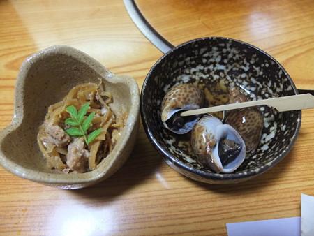 割烹かこう(嘉肴) 孟宗竹の姫皮、黒バイ貝
