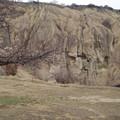 写真: 奇岩地帯