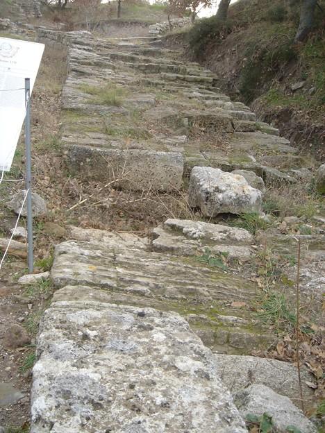 分厚い城壁