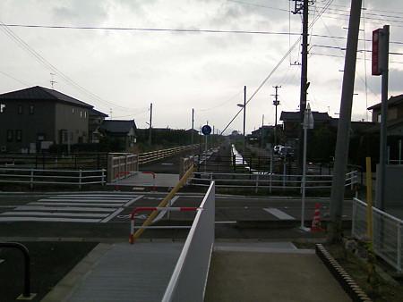 線路跡はサイクリングロードに