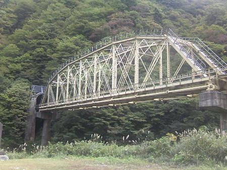 赤芝峡を越える米坂線その2
