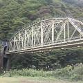 写真: 赤芝峡を越える米坂線その2