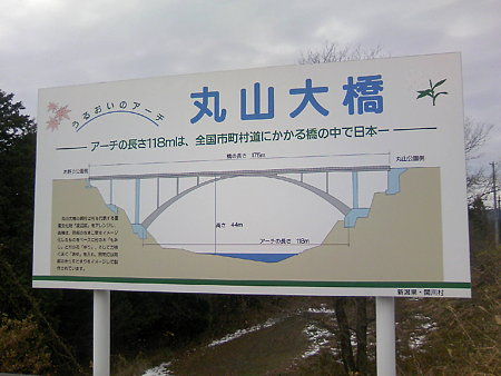 丸山大橋の説明