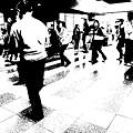 Photos: 駅景文字