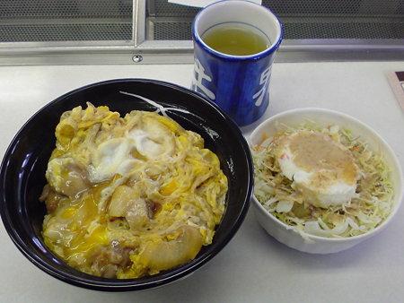 吉野家 親子丼+ポテトサラダ