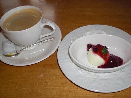ミニデザート&コーヒー