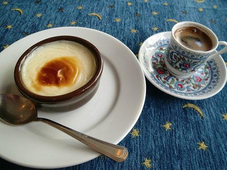 ライスグラタン&トルココーヒー