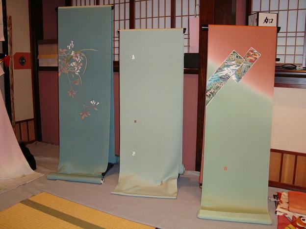074.加賀友禅の反物