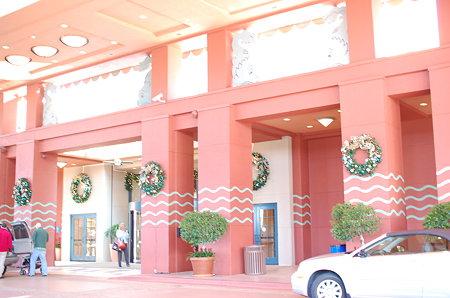 ドルフィンホテル正面玄関
