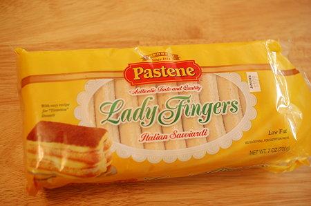 pasteneのフィンガービスケット