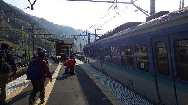 写真: 140426 笹子駅@0733