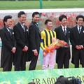 写真: 蛯名騎手&TOKIO(第74回 皐月賞)