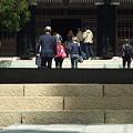 写真: 円覚寺山門から