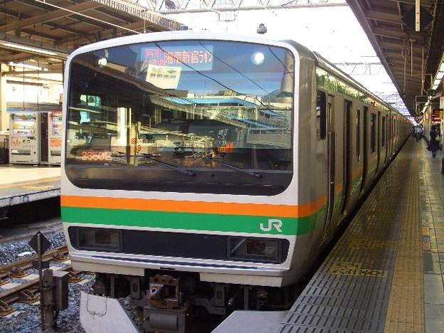 湘南新宿ライン 特別快速 CIMG1704
