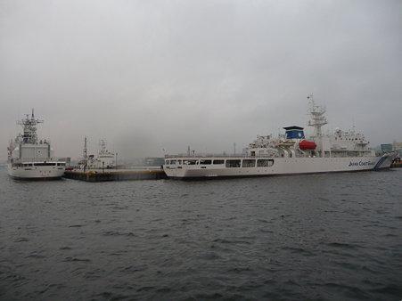 090507-観光丸 入港
