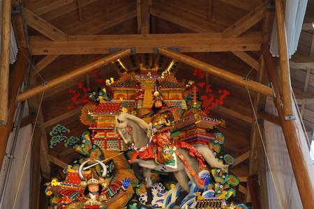 11 2014年 博多祇園山笠 博多駅の飾り山笠 軍師黒田官兵衛 (7)
