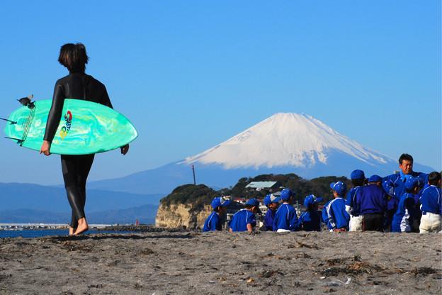富士山と波乗と野球と心強さと