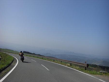 亀石峠にて