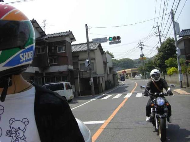 写真: 曽根槻田線を通って2