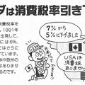 カナダは消費税率引き下げ