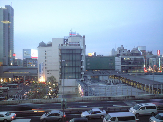 Photos: 渋谷駅を献血ルームから俯瞰