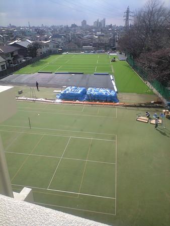 東工大 テニスコート