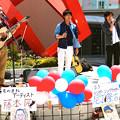 RTS 尼丁隆吉 藤本匠 加藤諭史 フリーライブ 2014年5月6日 広島市中区新天地 アリスガーデン