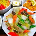 Photos: てんしん中華店 日替ランチ 八宝菜 広島市南区的場町 Tianjin