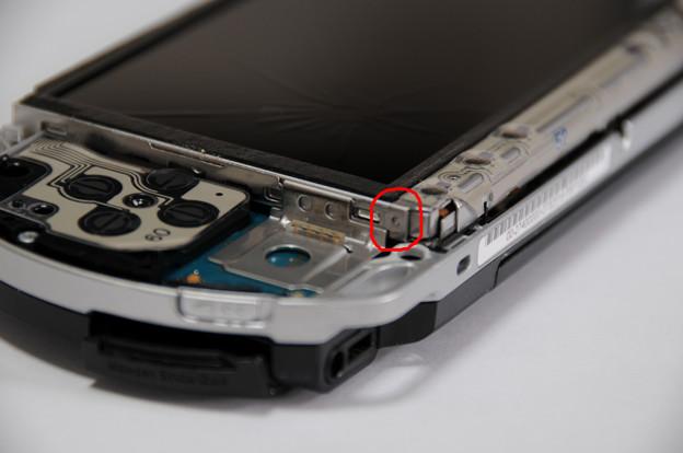 写真: PSP液晶自力交換 04