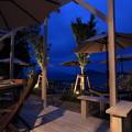 写真: 黄昏の博多湾