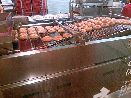 クリスピークリームドーナツ ドーナツ工場