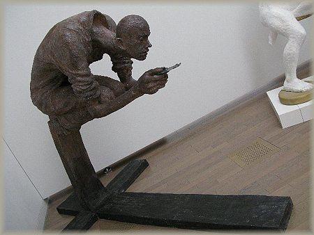 2008.03.23 国立新美術館 No.84白日会展 「選択」  タイ 青峰