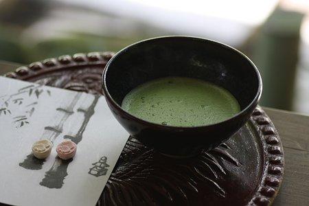 2009.03.21 報国寺 竹林のお茶席