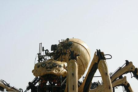 2009.04.26 みなとみらい ラ・マシンの巨大蜘蛛
