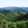 2014/5/18 百里ヶ岳  比良山系を望む