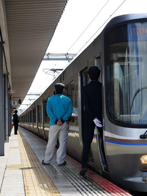 223系電車、姫路駅