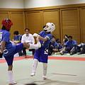 Photos: 空手の試合
