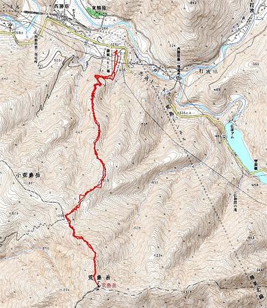 20080203荒島岳山スキー