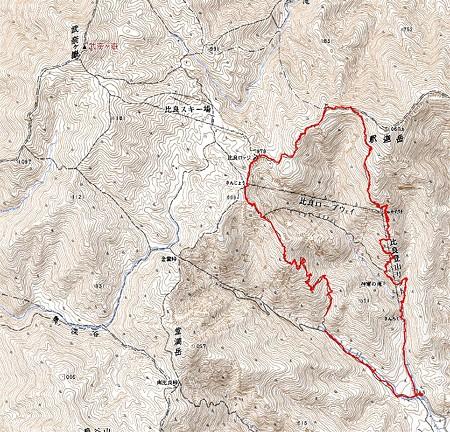 20080427比良山ハイキング