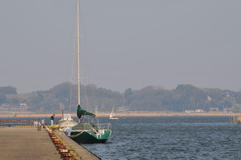 海の様な霞ヶ浦