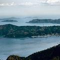Photos: 牡鹿遊覧道路から金華山を見る-補正-2-011
