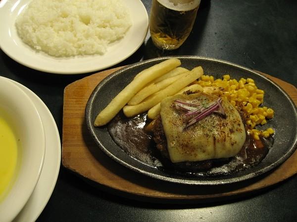 チーズハンバーグセットGYU