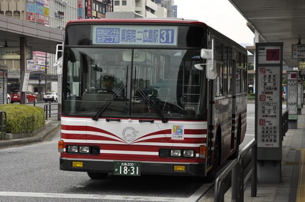 広島200か18-31 762号車(KC-MP317M 98年式)