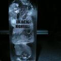 写真: 白グラス