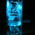 写真: 青グラス