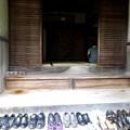 整頓されている履物に、日本を感じた。