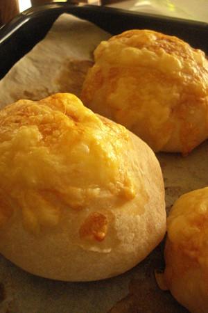 チーズフランスパン♪焼きあがりました~